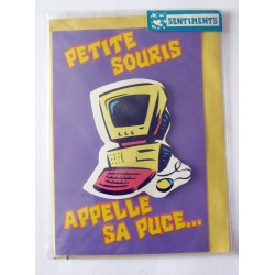 Carte postale neuve avec enveloppe sentiments amoureux saint valentin (lot 09.03)