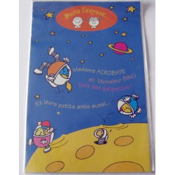 Carte postale double avec enveloppe fête diverses anniversaire pour enfants neuve
