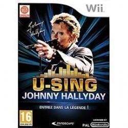 Jeux video U-Sing - Johnny Hallyday sur Wii