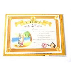 Carte postale avec enveloppe humour CARTOON félicitations Diplôme de la 40 aine neuve