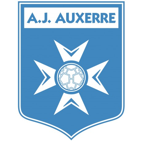 TRANSFERT TEXTILE VETEMENT SUPPORTER FOOTBALL FRANCE LOGO CLUB OLYMPIQUE A J AUXERRE