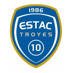 TRANSFERT TEXTILE VETEMENT SUPPORTER FOOTBALL FRANCE LOGO CLUB OLYMPIQUE TROYES NEUF