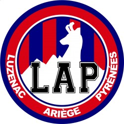 TRANSFERT TEXTILE VETEMENT SUPPORTER FOOTBALL FRANCE LOGO CLUB OLYMPIQUE LUZENAC NEUF