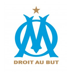 TRANSFERT TEXTILE VETEMENT SUPPORTER FOOTBALL FRANCE LOGO CLUB OLYMPIQUE OM MARSEILLE NEUF