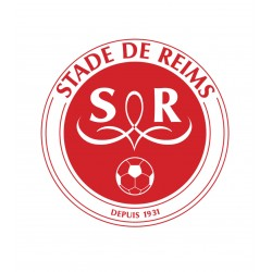 TRANSFERT TEXTILE VETEMENT SUPPORTER FOOTBALL FRANCE LOGO CLUB OLYMPIQUE REIMS NEUF