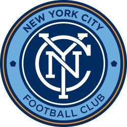 TRANSFERT TEXTILE VETEMENT SUPPORTER FOOTBALL LOGO CLUB NEW YORK CITY NEUF