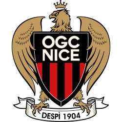 TRANSFERT TEXTILE VETEMENT SUPPORTER FOOTBALL FRANCE LOGO CLUB OLYMPIQUE OGC NICE NEUF