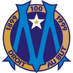 TRANSFERT TEXTILE VETEMENT SUPPORTER FOOTBALL FRANCE LOGO CLUB OM OLYMPIQUE MARSEILLE 02 NEUF