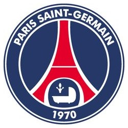 TRANSFERT TEXTILE VETEMENT SUPPORTER FOOTBALL FRANCE LOGO CLUB PARIS SAINT GERMAIN PSG NEUF