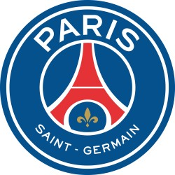 TRANSFERT TEXTILE VETEMENT SUPPORTER FOOTBALL FRANCE LOGO CLUB OLYMPIQUE PSG Paris St Germain NEUF