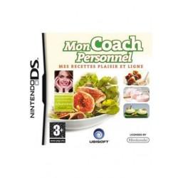 Jeu vidéo Mon Coach personnel Mes recettes plaisir et ligne Nintendo DS neuf sous blister