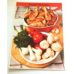 """FICHE CUISINE de ELLE vintage rétro par Madeleine Peter """"poulet marengo"""""""