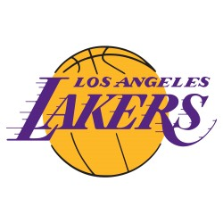 TRANSFERT TEXTILE VETEMENT SUPPORTER NBA LOGO LOS ANGELES LAKERS NEUF