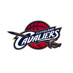 TRANSFERT TEXTILE VETEMENT SUPPORTER NBA LOGO CLEVELAND CAVALIERS