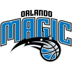TRANSFERT TEXTILE VETEMENT SUPPORTER NBA LOGO ORLANDO MAGIC