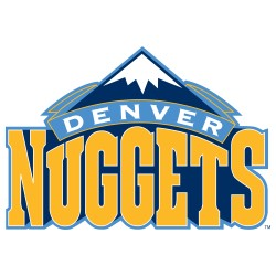 TRANSFERT TEXTILE VETEMENT SUPPORTER NBA LOGO DENVER NUGGETS