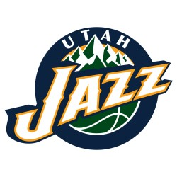 TRANSFERT TEXTILE VETEMENT SUPPORTER NBA LOGO UTAH JAZZ