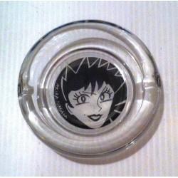 "Petit cendrier de table collection "" manga AKIRA NAGATA "" en verre NEUF"
