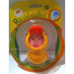 Idée cadeau déco : petite figurine animaux cadre photo enfant humour chambre canard