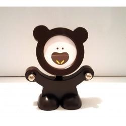 Idée cadeau déco : petite figurine cadre porte photo enfant déco chambre ourson neuf