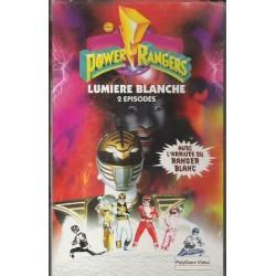 Cassette k7 vidéo vhs ENFANT POWER RANGERS, VOLUME 9 lumière blanche occasion