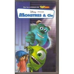 Cassette k7 vidéo vhs ENFANT monstres et cie - Pixar Walt Disney occasion