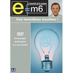 DVD E M6 - Ces Inventions Insolites Documentaire Mac Lesggy Neuf Blister