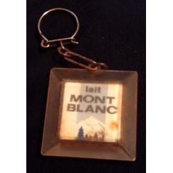"""Ancien porte clé publicitaire vintage """" LAIT MONT BLANC TONIMALT """" beg collection occasion"""