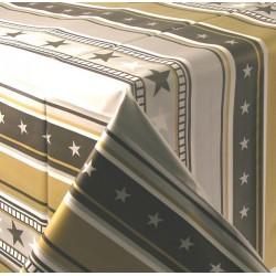 Nappe en plastique jetable étoilée 137 x 259 cm FÊTE ANNIVERSAIRE NOUVEL AN NOEL NEUF