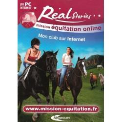 Jeux vidéo Real Stories Mission Equitation mon club sur internet sur PC neuf sous blister