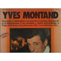Vinyle -33 tours Yves Montand Syracuse, L'étrangère, Le Chat De La Voisine...