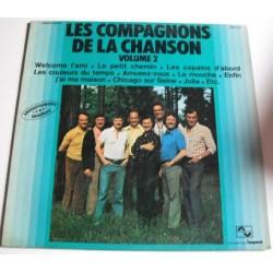 Disque Vinyle -33 tours Les Compagnons De La Chanson Vol 2 Welcome L'ami, Le Petit Chemin, Les Copains ...