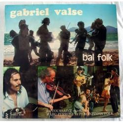 Disque Vinyle -33 tours Bal Folk - Gabriel Valse