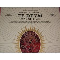 Disque Vinyle -33 tours Te Devm Magnificat - Marc Antoine Charpentier