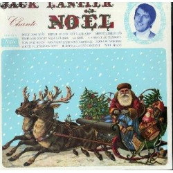 Disque Vinyle 33 tours Jacques Lantier Chante Noel 12 titres collection occasion