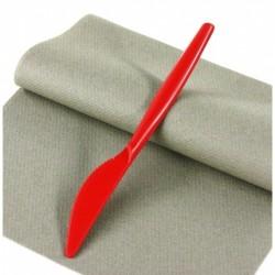 """Lot de 20 Couteaux en plastique """"Style"""" Rouges anniversaire mariage baptême"""