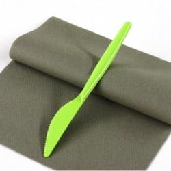 """Lot de 20 Couteaux en plastique """"Style"""" Vert anis anniversaire mariage baptême"""