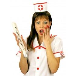 Thermomètre géant d'infirmière déguisement adulte anniversaire mariage retraite humour neuf