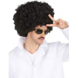 Perruque afro maxi homme - 400gr déguisement adulte anniversaire mariage retraite humour neuve