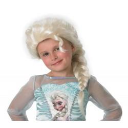 Perruque Elsa Frozen fille enfant déguisement anniversaire reine des neiges neuve