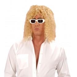 Perruque blonde de chanteur déguisement adulte anniversaire mariage retraite humour neuve