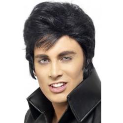 Perruque Elvis Presley homme adulte anniversaire mariage retraite humour NEUVE