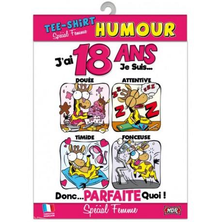 Anniversaire 18 Ans Fille Humour