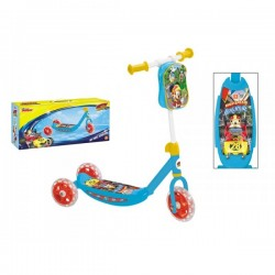 Trottinette Mickey Disney 3 roues avec sacoche jouet Plein air neuf