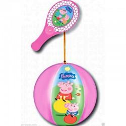 Ballon Tap Ball PEPPA PIG RAQUETTE + BALLON 20 CM jouet Plein air neuf