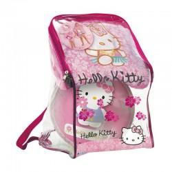 Lot 3 pièces Hello Kitty Sac + Poncho serviette de bain + ballon 23 cm idée cadeau anniversaire noel neuf