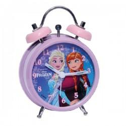 Réveil métal reine des neiges licence officielle Disney enfant fille chambre idée cadeau anniversaire noel neuf