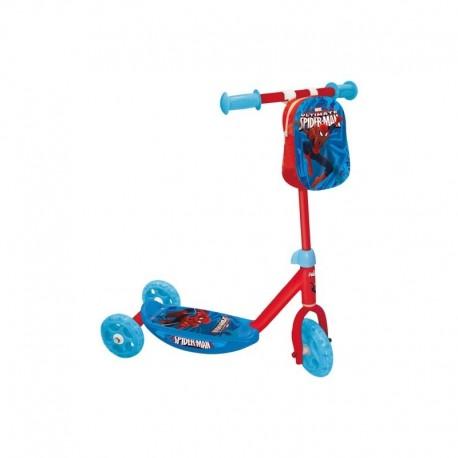 Trottinette Spiderman 3 roues jouet enfant Plein air neuf