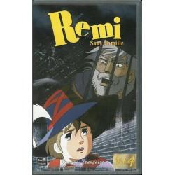 Cassette K7 vidéo VHS enfants Rémi Sans Famille - Volume 4 - Épisodes 12 À 14 occasion