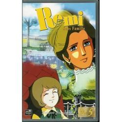 Cassette K7 vidéo VHS enfants Rémi Sans Famille - Volume 5 - Épisodes 15 À 17 occasion